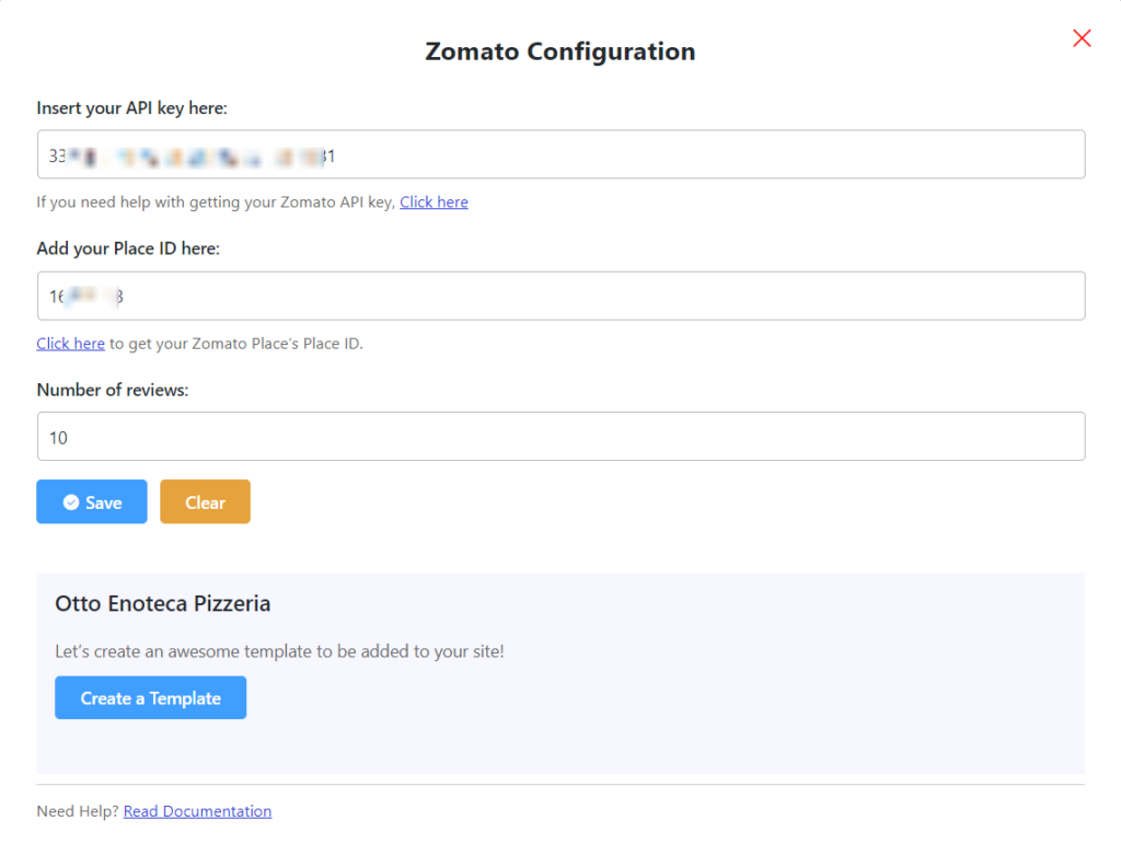 zomato reviews zomato configuration