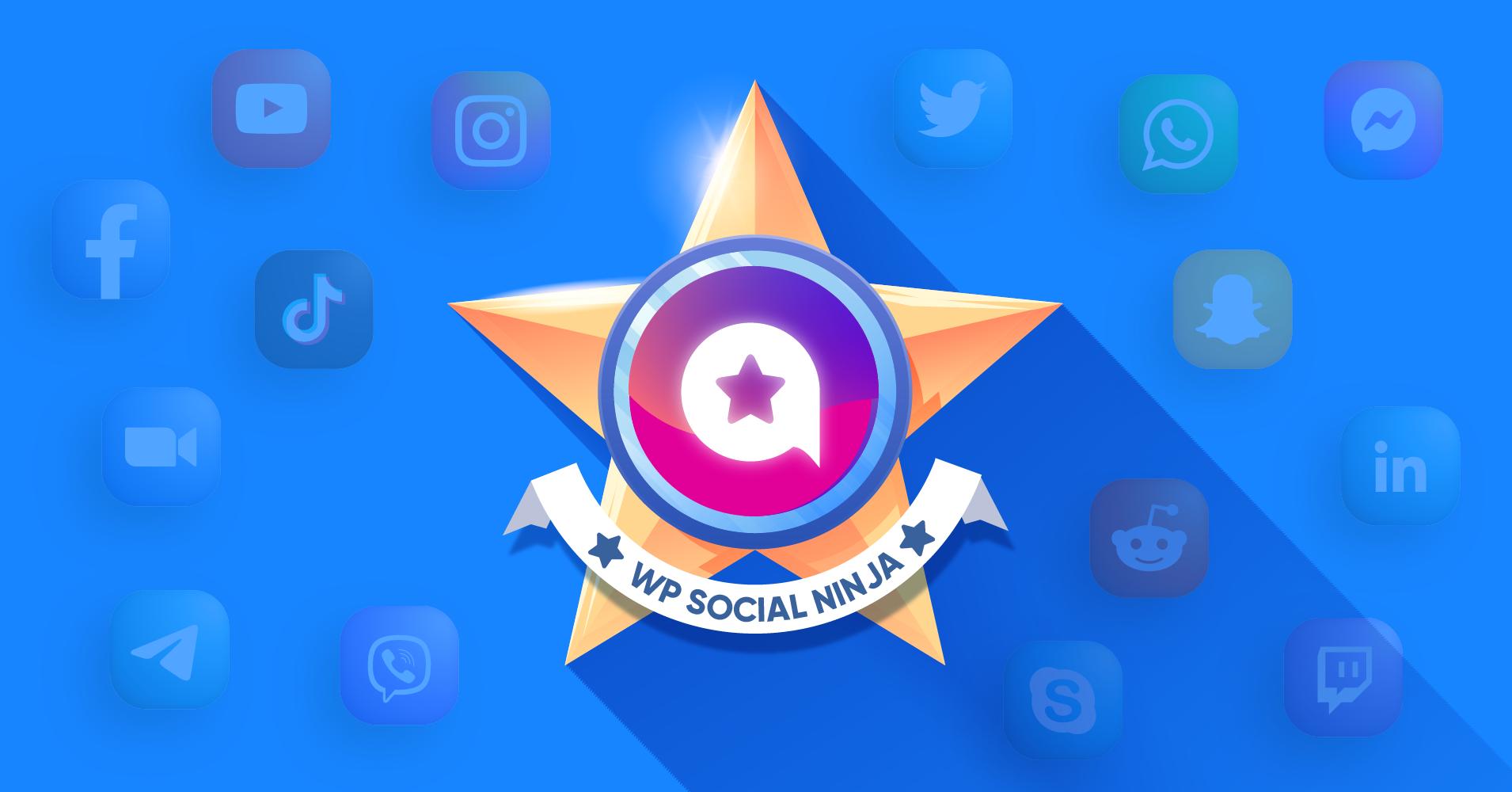WP Social Ninja: The Best Social Media Plugin for WordPress