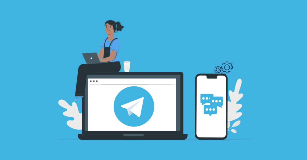 What is Telegram live chat?