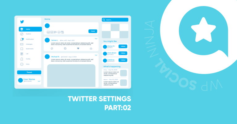 Twitter Settings in 5 Minutes with WP Social Ninja (Part 2)
